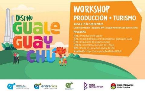 Destino Gualeguaychú: presentarán la ciudad a nuevos inversores