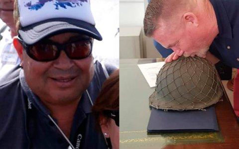 Veterano de Malvinas entrerriano recuperará su casco después de 37 años