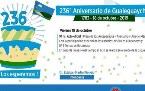 236º Aniversario de Gualeguaychú