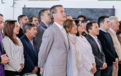 El intendente Piaggio encabezó los festejos por los 236 años de Gualeguaychú