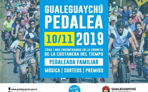 El 10 de noviembre llega la segunda edición de Gualeguaychú Pedalea