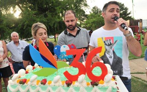 Pueblo Belgrano celebró los 36 años de su fundación