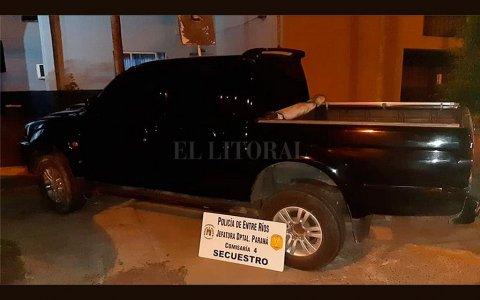 Paraná:  El director municipal de Exámen de Conducir usaba una camioneta robada
