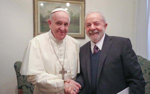 Lula fue recibido por el Papa