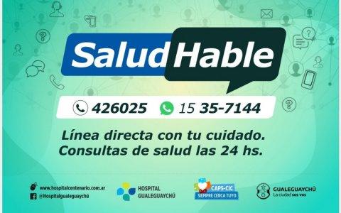 La Línea SaludHable: el lugar de consultas por Covid-19