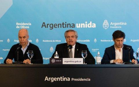 15 días más: Alberto Fernández anunciará mañana que la cuarentena sigue sin cambios