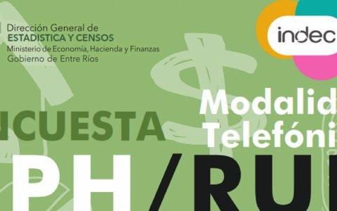 Se realiza en Entre Ríos la encuesta permanente de hogares