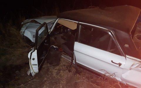 Volcó un Falcon en Ruta 51: los dos ocupantes sufrieron lesiones leves