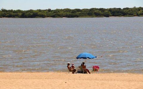 Colón: hicieron una prueba piloto del funcionamiento de playas