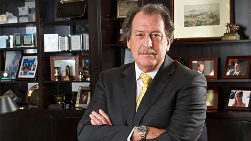 Murió el banquero Jorge Brito al estrellarse el helicóptero en el que viajaba