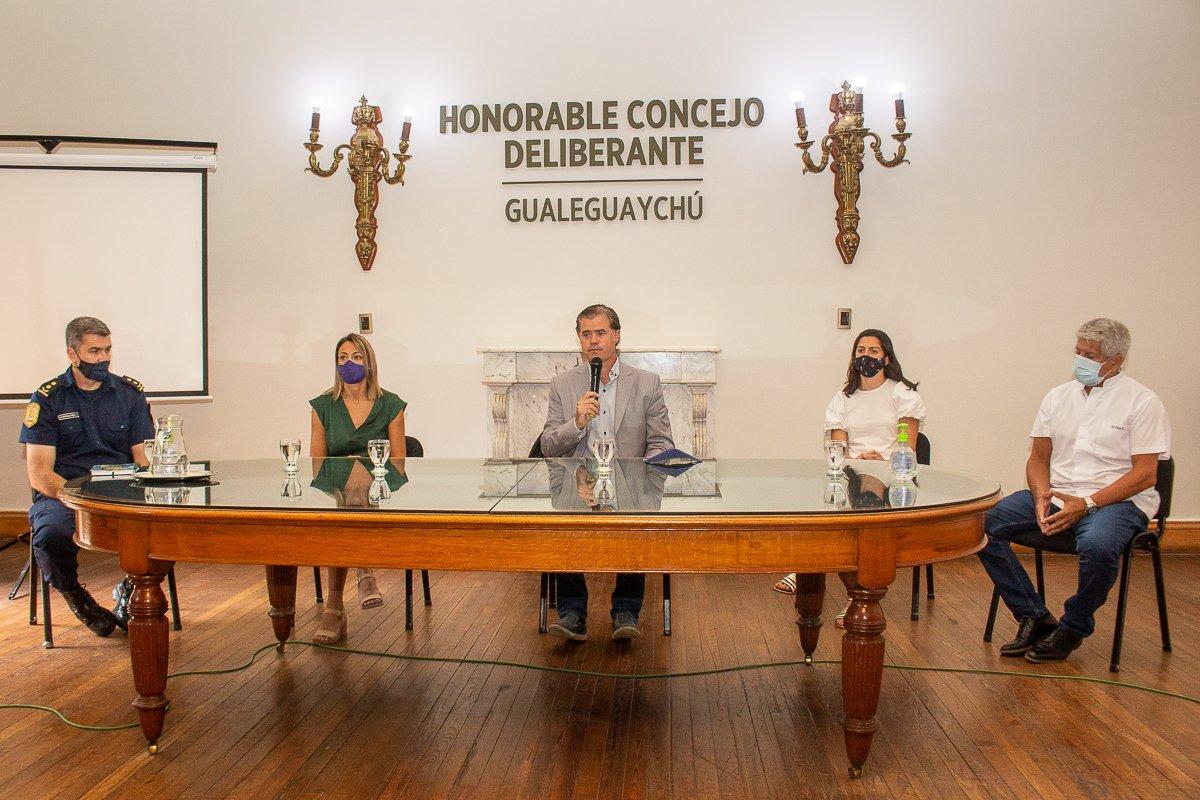 Piaggio elevó a Bordet el pedido del COES local