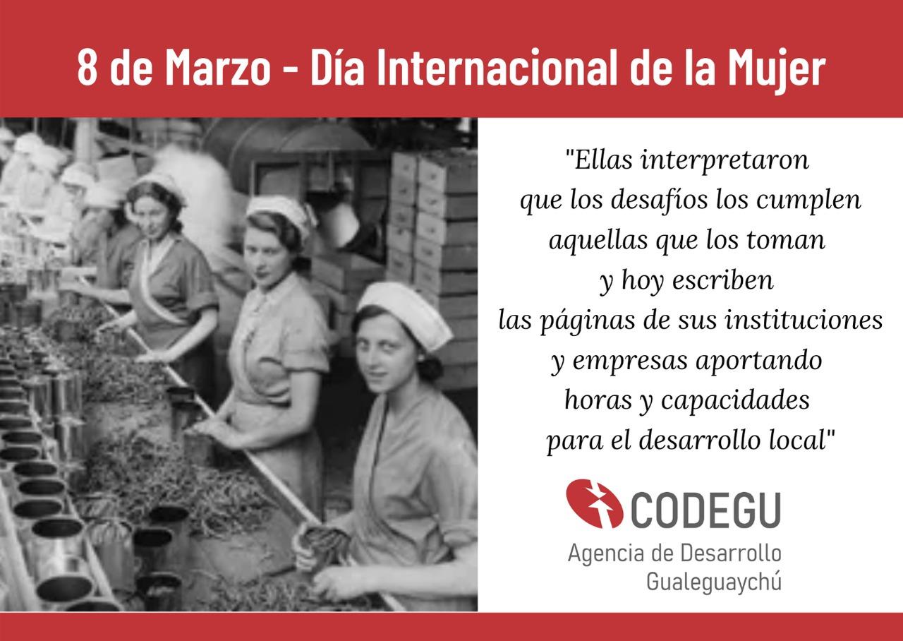 Las mujeres, protagonistas de la vida de la Corporación del Desarrollo
