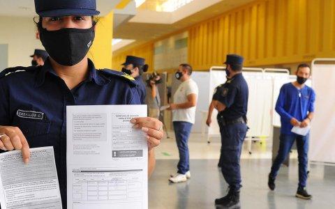 En Entre Ríos ya son más de 7 mil los efectivos de seguridad vacunados contra el covid-19