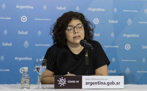 En vivo, conferencia de prensa de  la ministra de Salud de la Nación Carla Vizzotti