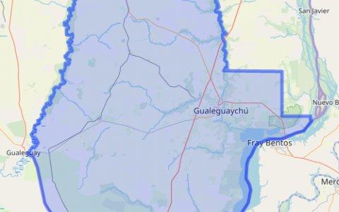 """Gualeguaychú y otros cuatro departamentos en """"alto riesgo"""" epidemiológico"""