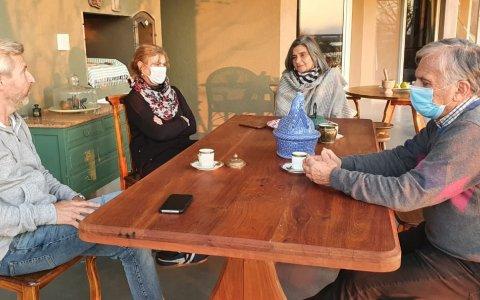 Frigerio se reunió con dirigentes de la UCR en la Costa del Paraná