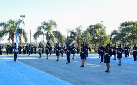 Cadetes de la Policía de Entre Ríos prestaron juramento a la Bandera