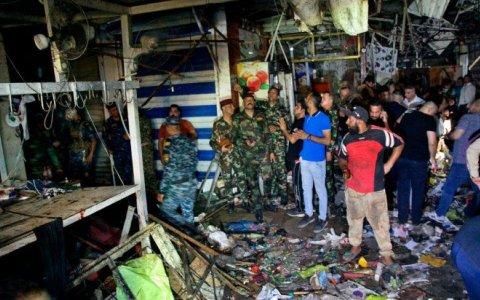 Irak: una bomba en un mercado de Bagdad dejó al menos 27 muertos y 45 heridos