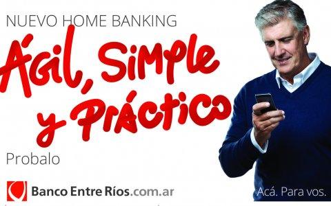 El Banco de Entre Ríos presentó su nuevo Home Banking