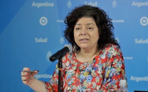 """""""Hoy llegaremos al 50% de vacunados en Argentina"""" aseguró la ministra de salud Carla Vizzotti"""