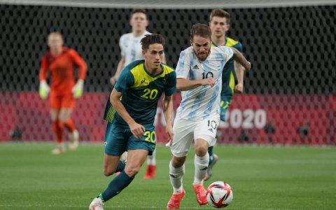 Debut fallido para la Selección argentina Sub 23 en los Juegos Olímpicos: perdió 2 a 0 ante Australia