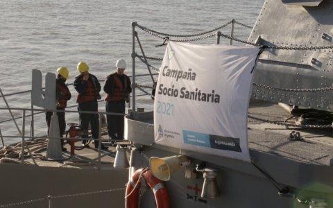 Campaña Fluvial Socio Sanitaria en  Villa Paranacito