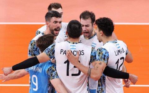 La Selección Argentina de vóley venció a Italia y pasó a las semifinales de los Juegos Olímpicos Tokio 2020