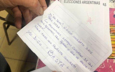 Los votos nulos sumaron más que seis de las 10 listas que se presentaron en Entre Ríos