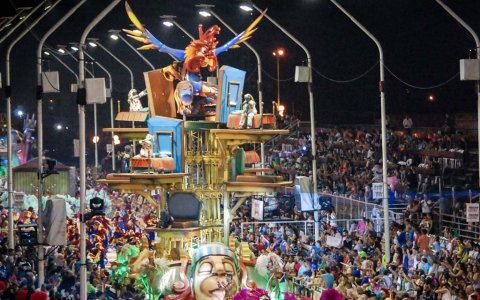 El Carnaval del País 2022 dará inicio el 8 de enero y tendrá diez noches