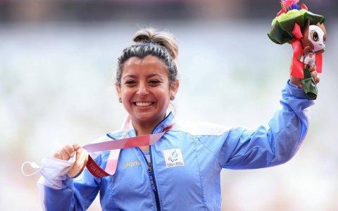 """Antonella Ruíz Díaz: """"Abrir el medallero fue como abrir el camino para que todos triunfen"""""""
