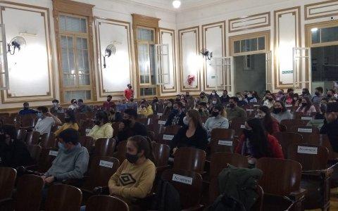 """Clase abierta en el Instituto """"María Inés Elizalde"""""""