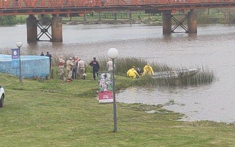 Encontraron el cuerpo del hombre que buscaban en el río Gualeguaychú