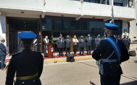 Quedó inaugurada la Delegación Gualeguaychú de la Policía Federal