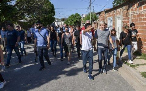 Paraná: Frigerio inauguró un local en la seccional 11 y agradeció a los vecinos por la militancia